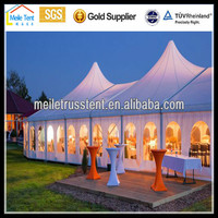 outdoor 25x50m Large Event Tents with Flooring / Wind Resistant Wedding Tent Party Tent Manufacture China