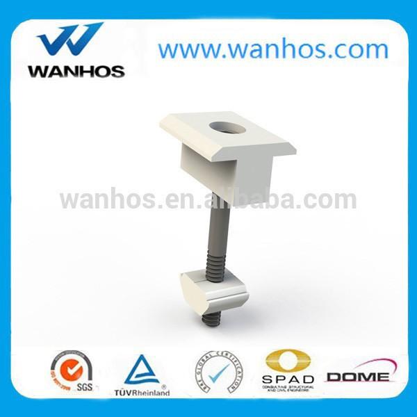 Aluminum solar clamp