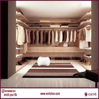 Hanging walkin closet designs