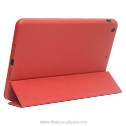 Hot selling good quality leather case for iPad mini