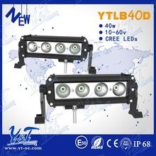 40W 10inch Day Driving Fog Lampindustrial vintage lighting led barCar Led Work Lightrs 40W led light barht accessories