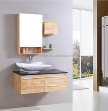 the Canton fair china supplier wooden used bathroom vanity cabinets