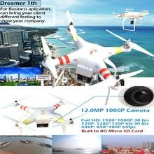 New 2015 Remote Control Quadcopter VS Dji Phantom 2 Vision+ Rc Quadcopter Support GPS One Key Go Home and Aerial Photography