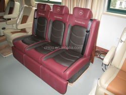 Electric three seat melta frame suitable for MPV, motor home modification
