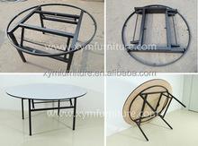 Modern Design PVC Folding Dining Table Designs