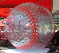 popular design sport theme inflatable human bowling balls with high quality ZB04(1)