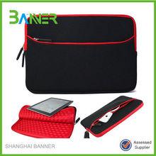 2015 fashion nqoprene waterproof custom sized laptop sleeve