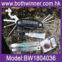CH066 portable bicycle tire repair tool kit