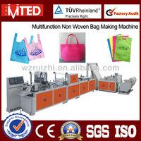 Box Bag, T-shirt Bag, Flat Bag Non Woven Bag Making Machine