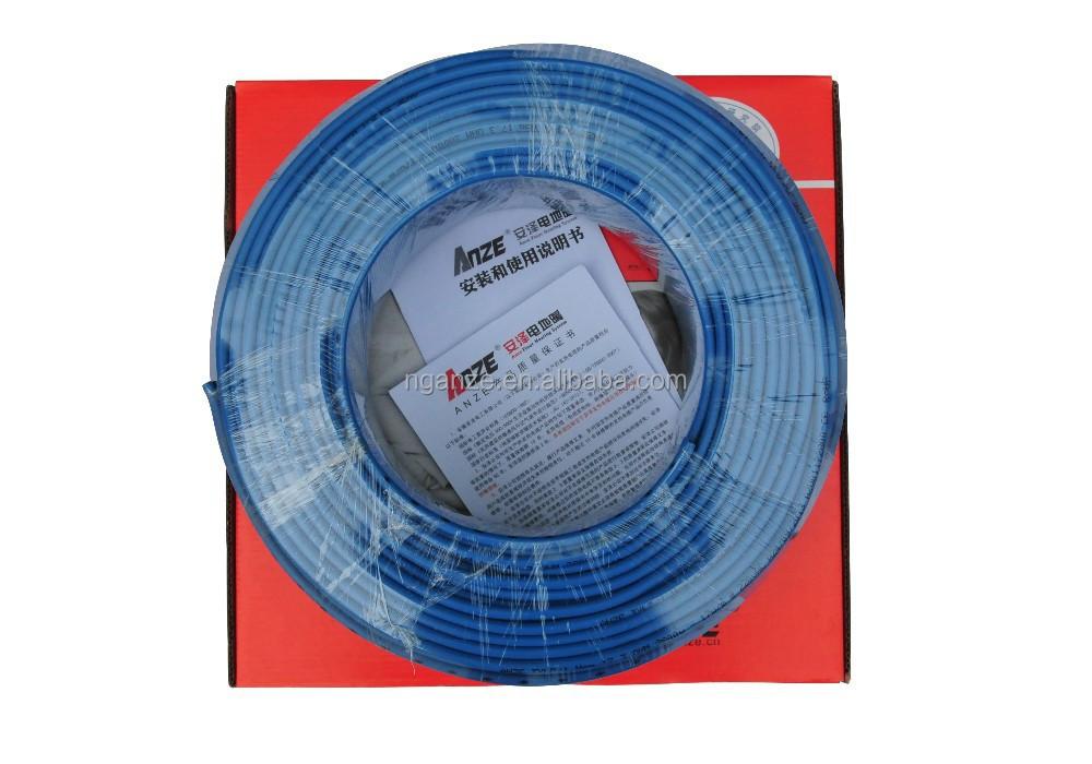 Under Floor Heating Wire : Underfloor electric heating cable buy heat resistant
