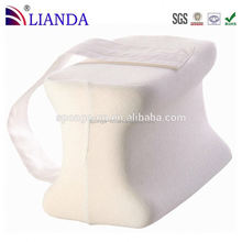 Helps to reduce lower back, leg, hip, ankle or joint pain good for sleep memory foam knee support pillow