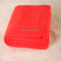 shine color printed of polar fleece blanket