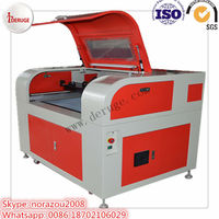 Deruge 40 watt co2 laser engraving and cutting engraver machine with usb port