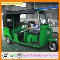 Chongqing Factory Newest Design Bajaj Auto Rickshaw Price / Cng 4 Stroke Rickshaw/ Tuk Tuk Bajaj India For Sale