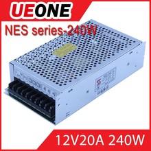 240w 12v LED trip power supply dc power supply 12v 20a for cctv camera housing
