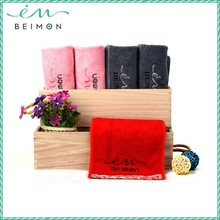 2015 Beimon bath towels high quality antibacterial towel 100% cotton average bath towel size