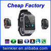 Android smart watch phone 2015 waterproof ce rohs bluetooth smart watch men with phone call bluetooth smart wtach cheap