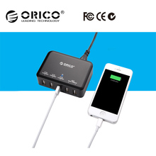 ORICO 40W 5 Port USB wall charger for smart phone multi port USB charger with fast charging