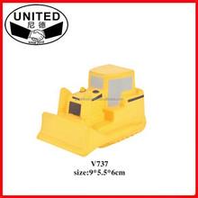 2015 Hot sell PU Excavator stress ball, Model V737, Customizable