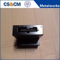 high precision custom made black anodized aluminum case