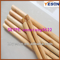 150cm garden sweeping wood handle/straight cut varnished broom handle/bright lacquered Wood Mop Handle