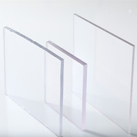 Hard transparent plastic polycarbonate sheet