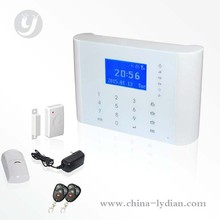 Android APP Touch Screen GSM Home Security Alarm System