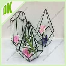A~~~Eco-friendly stained glass Universe Terrarium Kit //wholesale hanging large glass terrarium with a hinged door