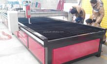 Fuente de la fábrica china cnc plasma máquina de corte mesa