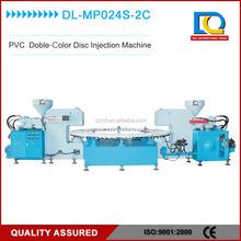 doppio colore pvc pistone cinghia superiore disco macchina per lo stampaggio ad iniezione