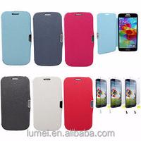 Flip Leather Cover Case Pouch Skin Bumper For Samsung Galaxy S3 Mini I8190