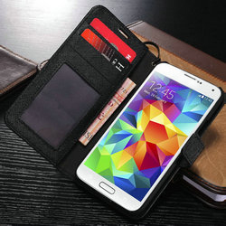 2015 Wholesale Case New Arrival Case with belt clip case for galaxy s5, luxury cover for samsung i9600
