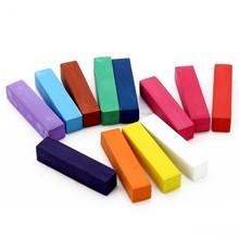 No tóxico temporal tinte de pelo de color Kit de pasteles Salon Kit 12 colores de tinte de pelo de la tiza