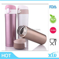 Top sales colorful stainless steel vacuum flask with BPAfree lid