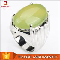 2015 Fashion jewelry green gemstone man sexs ring man ring silver saudi ring for man