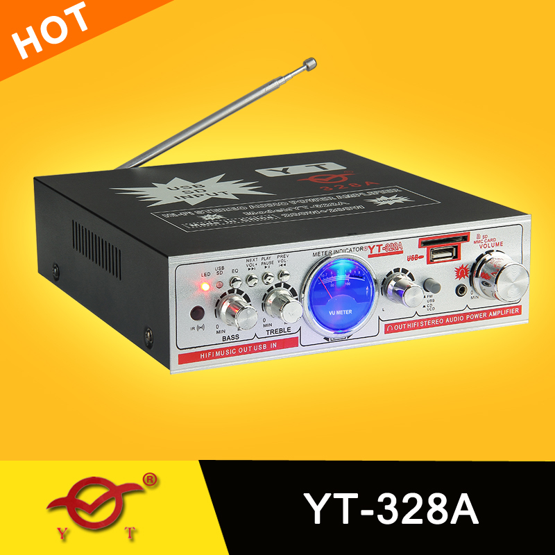 Bluetooth Module 12v Mp3 Amplifier Yt-328a/support Mp3 Usb ...