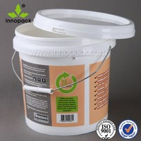 10 litre plastic container for glue/paint packing ,glue bucket,paint bucket