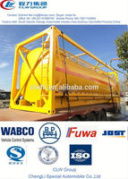 popular oil tank container,20 ft or 40 ft, tractor fuel tanks