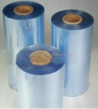 Chine fournisseur transparente qualité médicale pvc film