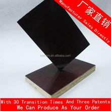 1.5mm building material/formed pine plywood film faced for construction