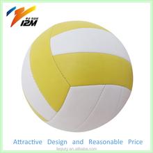 18 panels machine stitched volleyball ball