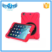 hot selling pirate king combo cover case for iPad min 123 screen protector