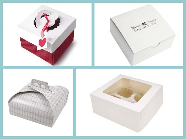 Hot sale popular disposable customized cheap cupcake take away box