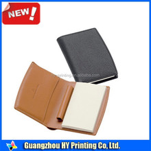 Leather Refillable Pocket Mini Composition Notebook