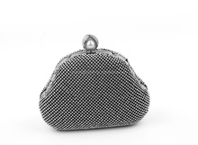 High Quality rhinestone crystal clutch evening bag with good quality and cheap price