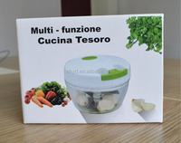 New Twister mini hachoir Speedy Chopper multifunctional hand vegetable /fruit Speedy Chopper