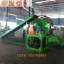 Waste Tire Recycling Plant / Tire Recycling Rubber Powder Production Line / Reclaimed Rubber Machine