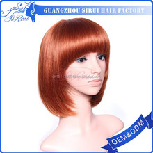 High quality and factory prices lady gaga bow pink wig, synthetic light pink wig, fashionable pink braided wigs