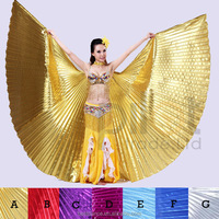 Classical Popular Egyptian Professional Belly Dance Isis Wing 10 Colors for Choose