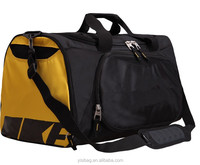 fashion travel bags for men with side pockets